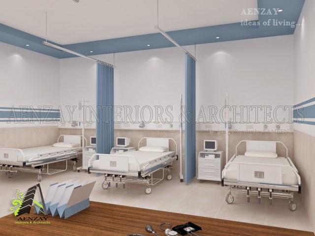 Aenzay Interiors Architects Emergency Room Designed by Aenzay