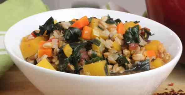 How to cook Farro & Bean Soup