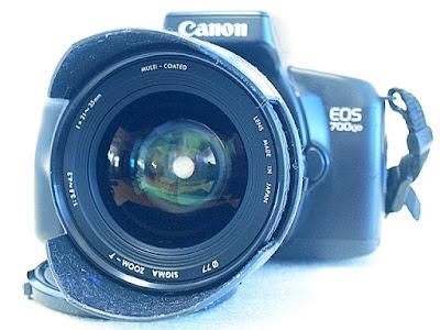 Canon EOS 700QD, Sigma Zoom AF 21-35mm F3.5-4.2