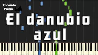 danubio azul piano