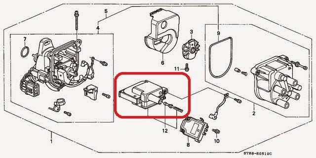 Travel Note From a 2000' Honda CRV: DIY Repair: Honda CRV