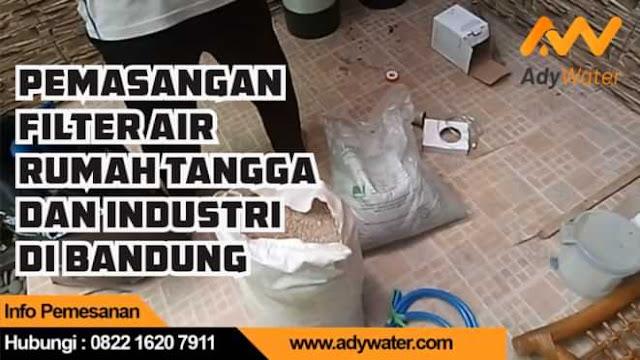 jasa filter penjernih air rumah tangga bandung cimahi