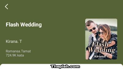 Novel Flash Wedding