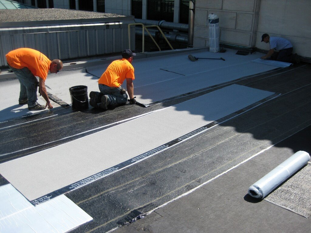 Sbs And App Modified Asphalt Membranes For Flat Roof
