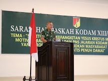 Pangdam XIII/Merdeka Hadiri Sarasehan Paskah 2019