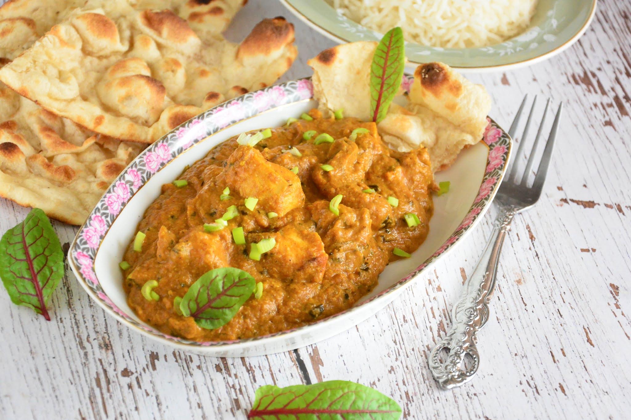 kury z kurczaka po indyjsku