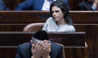 Ayelet Shaked: O Likud trabalhou duro contra a minha eleição