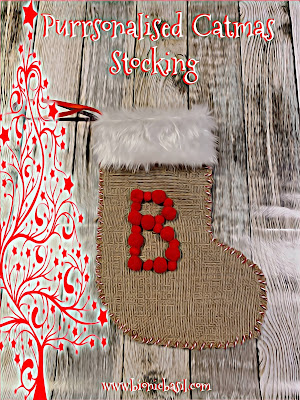 Crafting with Cats Catmas Special ©BionicBasil® Purrsonalised Catmas Stocking