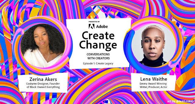 Adobe meluncurkan Create Change: Conversations dengan creator