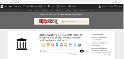 cara download film di laptop archive.org
