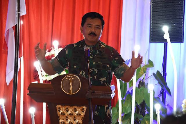 Panglima TNI : TNI Tidak Memberikan Ruang dan Tempat Bagi Pelaku Rasis