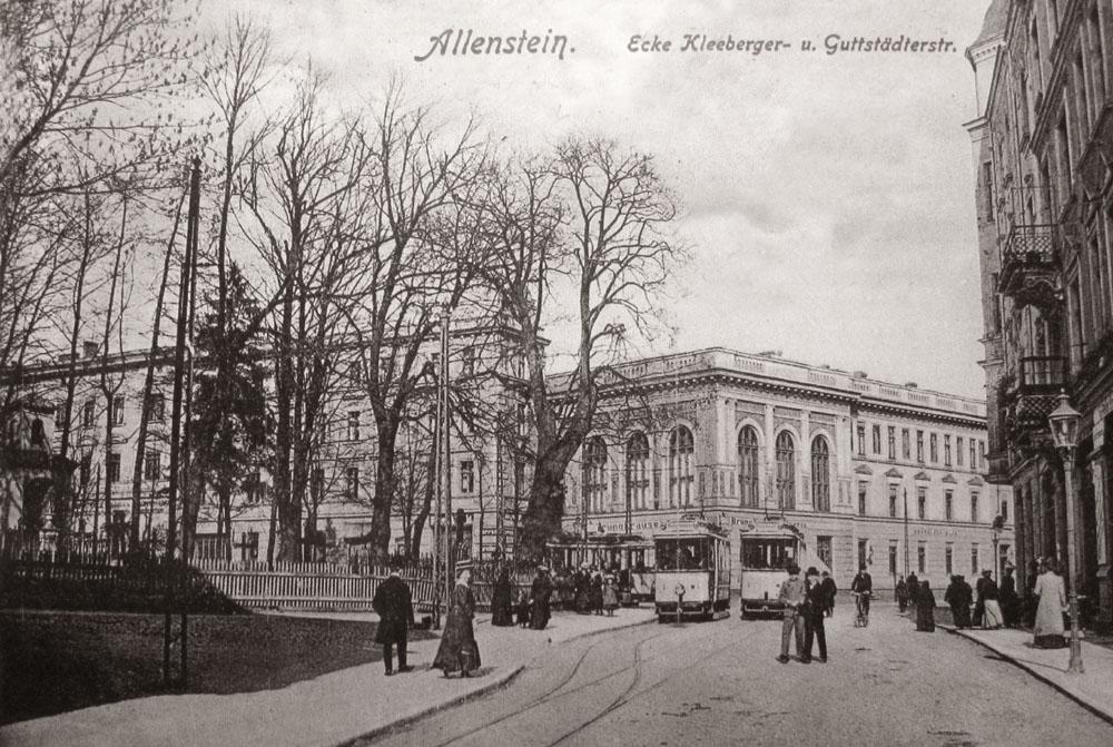 Stary Olsztyn /3/. Cmentarze olsztyńskie