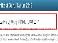 Berikut Jadwal Uji Ulang UTN dan UKG 2017
