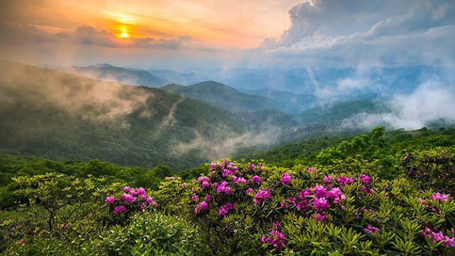 Asheville NC Scenic Landscape