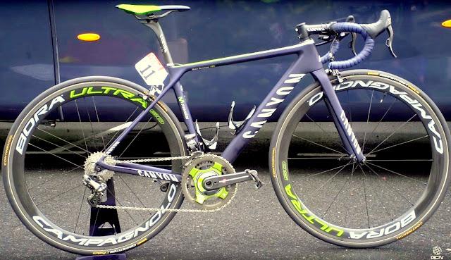 La Canyon Ultimate CF SLX de Nairo Quintana en el Tour 2016