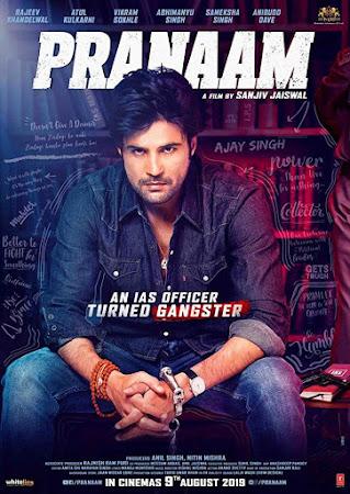 Poster Of Bollywood Movie Pranaam 2019 300MB Pdvd Full Hindi Movie