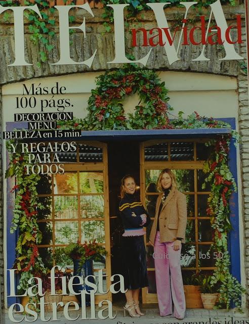 Revista Telva especial Navidad