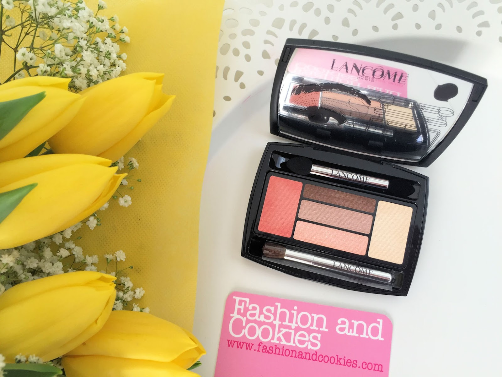 Lancôme makeup collection for Spring 2016 My Parisian Pastels eye makeup hypnose palette on Fashion and Cookies beauty blog, beauty blogger