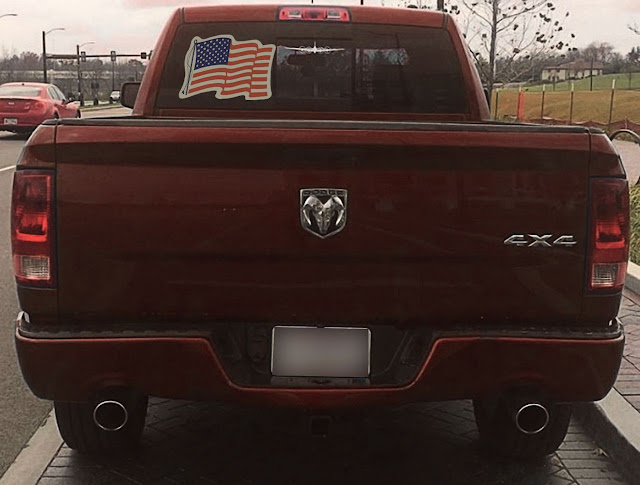 colorful-US-flag-decal-on-rear-window-red-ram-1500-4x4