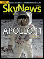 cover of SkyNews featuring Apollo 11
