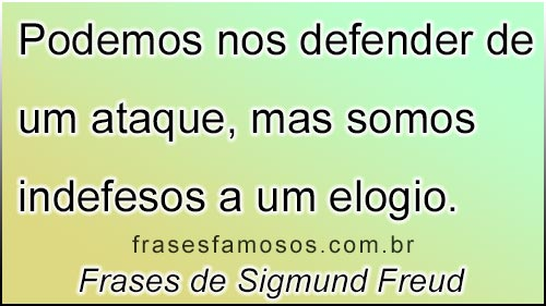 Frase de Freud