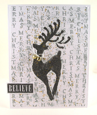 Darkroom Door Christmas Reindeer Festive Ornaments