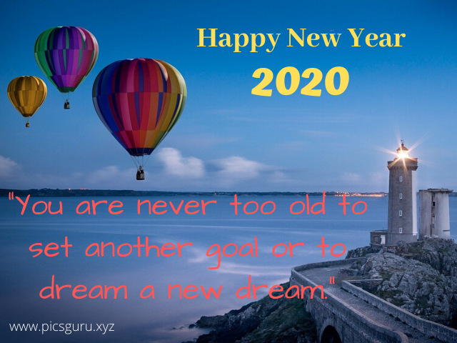 Happy New Year Pics | New Year wish Images with Quotes - 2020