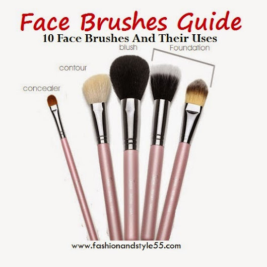 Face Brushes Guide