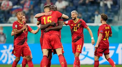 ملخص واهداف مباراة بلجيكا وروسيا (3-0) كاس امم اوروبا