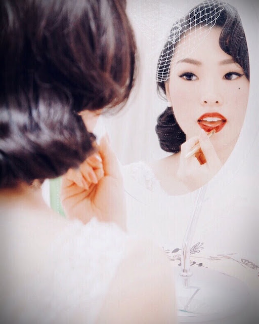 """Before the Meiji era, Japan isolate itself from western culture. People only wore traditional japonse clothing; such as the kimono. During the Meiji era, Japanese people started to slowly adapt to western culture and fashion.  Japanese men started to wear suits, and women of a higher class started to wear western style dresses. Western attire for women was only worn by women who were married to diplomats or of a higher class.  Kimonos were still frequently worn, but combined with western accessories. After WII, western clothing was seen as a symbol of sophistication; Japanese women started to wear western clothing in everyday life and men's attire became largely western aswell.  Q: You're originally from Japan, but moved to London. How do people react to the way you dress in Japan vs in London?  A: """"I'm from a small city near Fukuoka. I always stood out, people stared at me. Not really in a negative way, but they looked at me curiously. I was lucky that I had friends and teachers from beauty schools who had unique styles too and who understood and liked my style.   In London, I feel like I can wear whatever I want and be comfortable in my own skin. I sometimes get compliments from strangers and I always appreciate that. London is a big city with a diverse people and I think that helps me to feel ok to express my style.""""  Q: How did you first get into vintage fashion and lifestyle and why?  A: I always loved classic movies, music, and especially photography. Such as Richard Avedon, Irving Penn, Cecil Beaton, Horst P. Horst, Patrick Demarchelier. I love looking at classic photography and they always make me feel elegant and happy. That's how I got into the lifestyle - I want to bring that style.""""   Q: What's your favorite era to dress in and why?  A: """"I love the 1950s, I find the era very classic and romantic. I've just been to the Dior exhibition in London. I loved every minute there. The hair, makeup, and fashion emphasizes my feminine side. It makes me feel sexy an"""