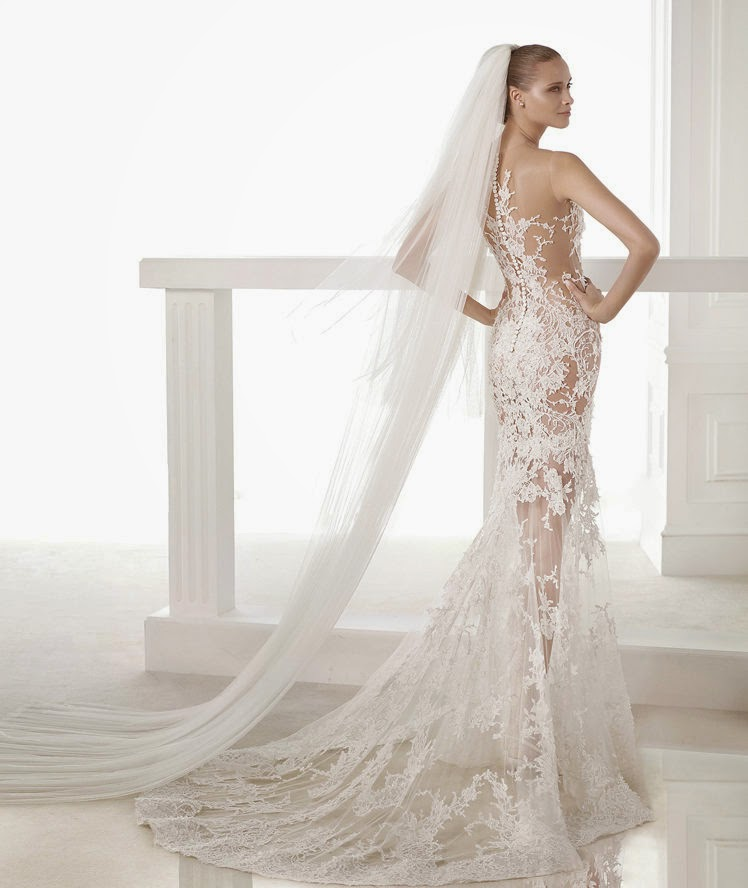 Mermaid Lace Wedding Gown: I Am A Woman In Love: 2015 Wedding Dresses: Lace Mermaid