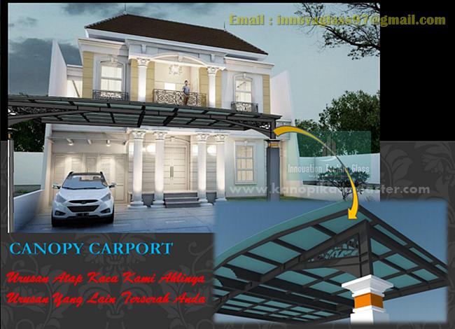 Kanopi Kaca Carport Sentul City