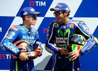 Raih Pole GP Mugello, Ternyata Rossi Manfaatkan Slipstream Vinales