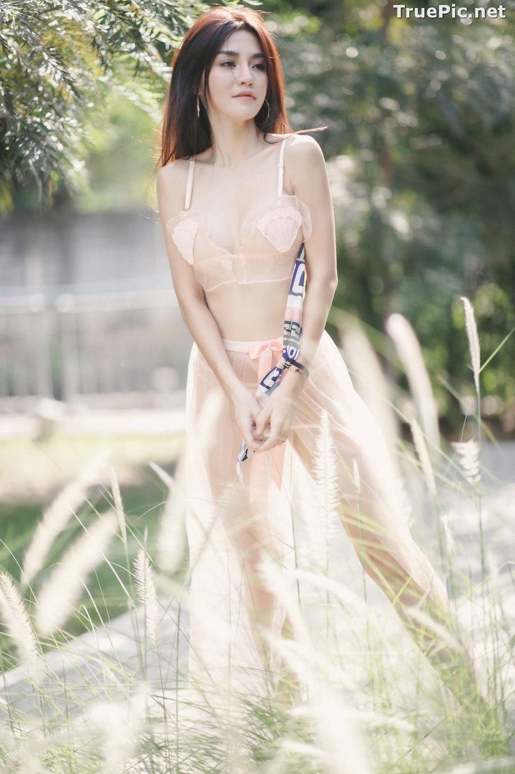 Image Thailand Model - ลฎาภา รัชตะอมรโชติ - Pink Transparent Lingerie - TruePic.net - Picture-5