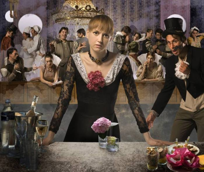Фотография и театр. Gergana Zmiicharova. Romeo & Juliet