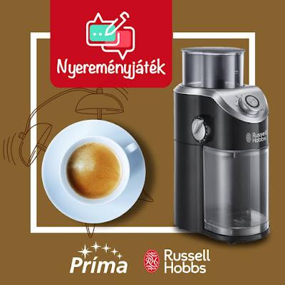 Príma Russell Hobbs Nyereményjáték