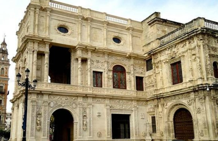 Visita al Ayuntamiento de Sevilla