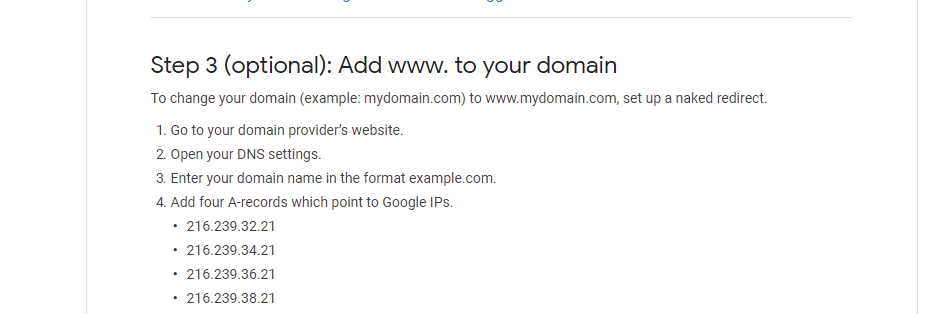 How to redirect your blog without www to a www domain (Naked domain to www domain redirect problem : solved)