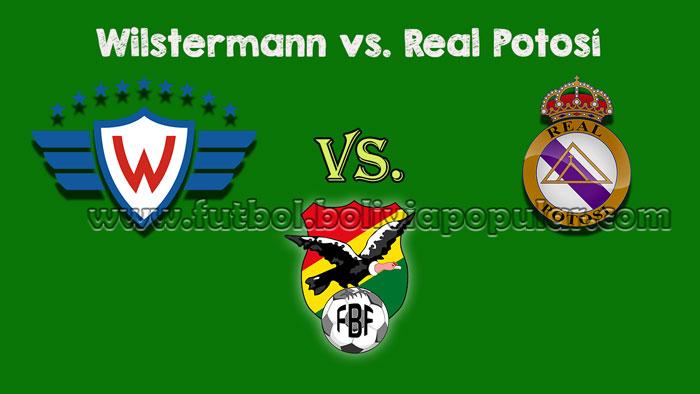 Wilstermann vs. Real Potosí【En Vivo Online】Torneo Clausura 2018