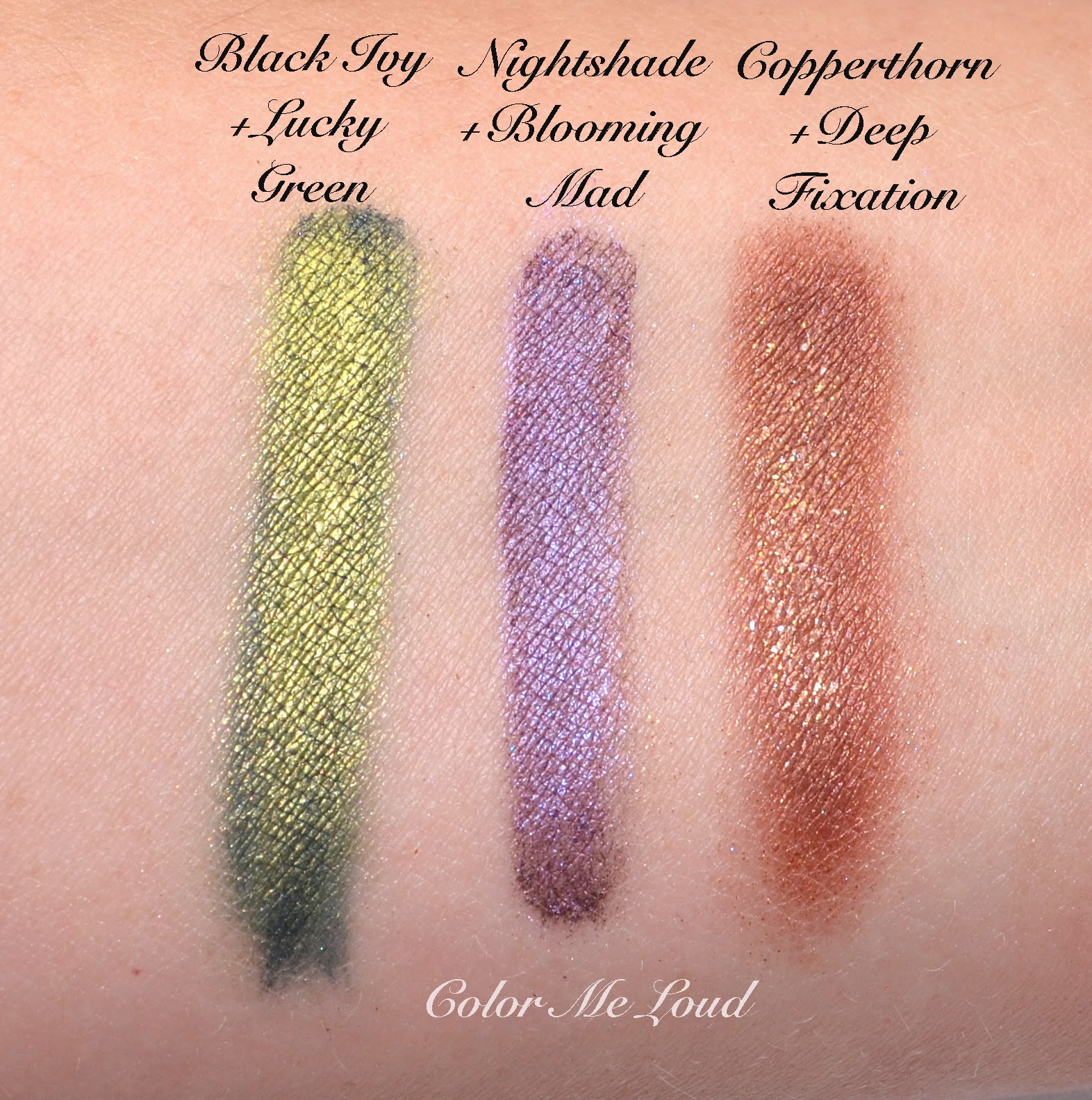 My Picks from MAC Moody Blooms Collection, Eye Shadows in Deep ...