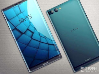Sony Xperia Edge concept with triple-bezel-less display