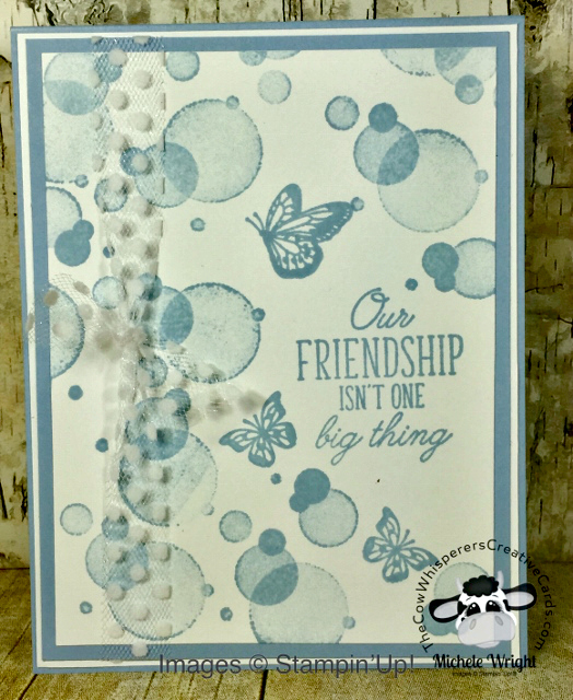 Card, Beauty Abounds, Clean & Simple, Seaside Spray