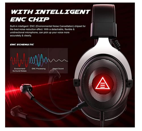 ISEYMI E900 Plus Wired PC Gaming Headset