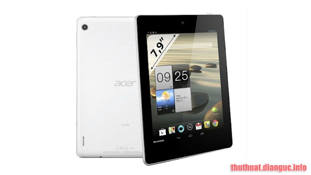 Rom stock cho Acer Iconia (A1-811)