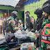 Menyambut HUT Batalyon ke-57,Satgas Yonif RK 751/VJS menebar Senyum di Pegunungan Tengah Papua.