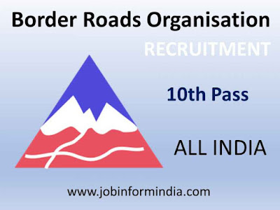 BRO MSW Recruitment 2019 For 540 Multi Skilled Worker