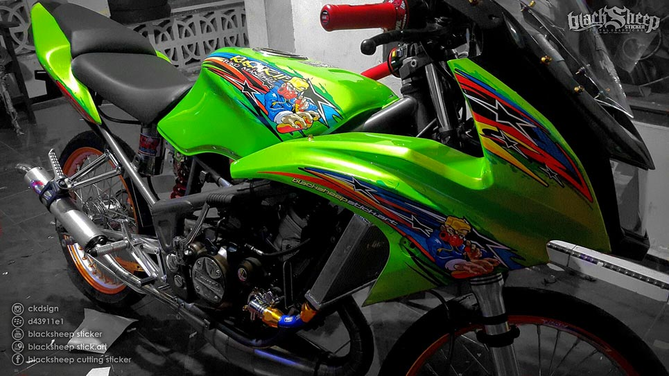 Sticker Kawasaki Ninja Street Racing