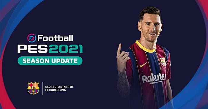PES 2021 Leo Messi Start Screen - PES 2019 & PES 2017 ...
