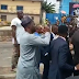 Unrest in Ibadan as two police men are reportedly killed... Governor runs to scene [all the videos]