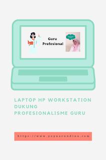 Laptop HP ZBook Firefly 14 G8 Dukung Profesionalisme Guru